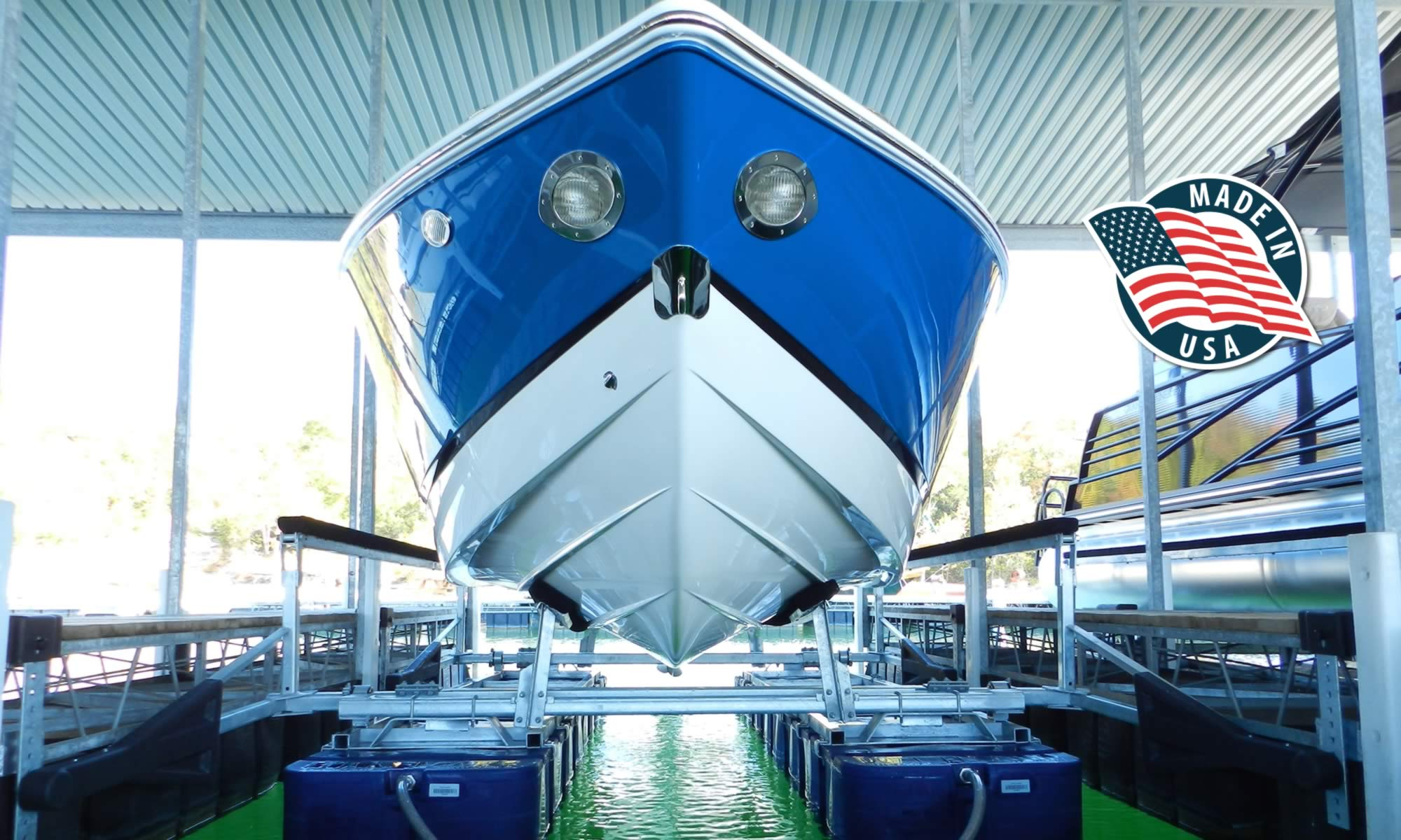 Boat Floater Boat Lifts Manufactured in The United States of America